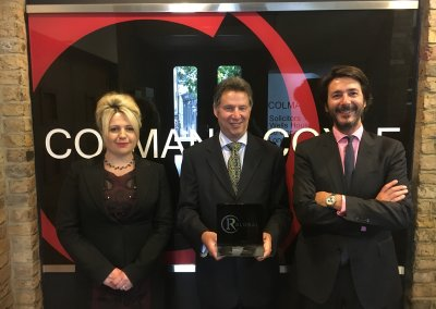 Colman Coyle Awarded IR Global Gold Member Status