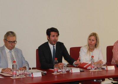Ignacio Morillas-Paredes attends two conferences in Cetursa, Sierra Nevada and Chamber of Commerce in Granada