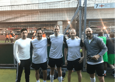 Colman Coyle takes part in charity 5-a-side football tournament