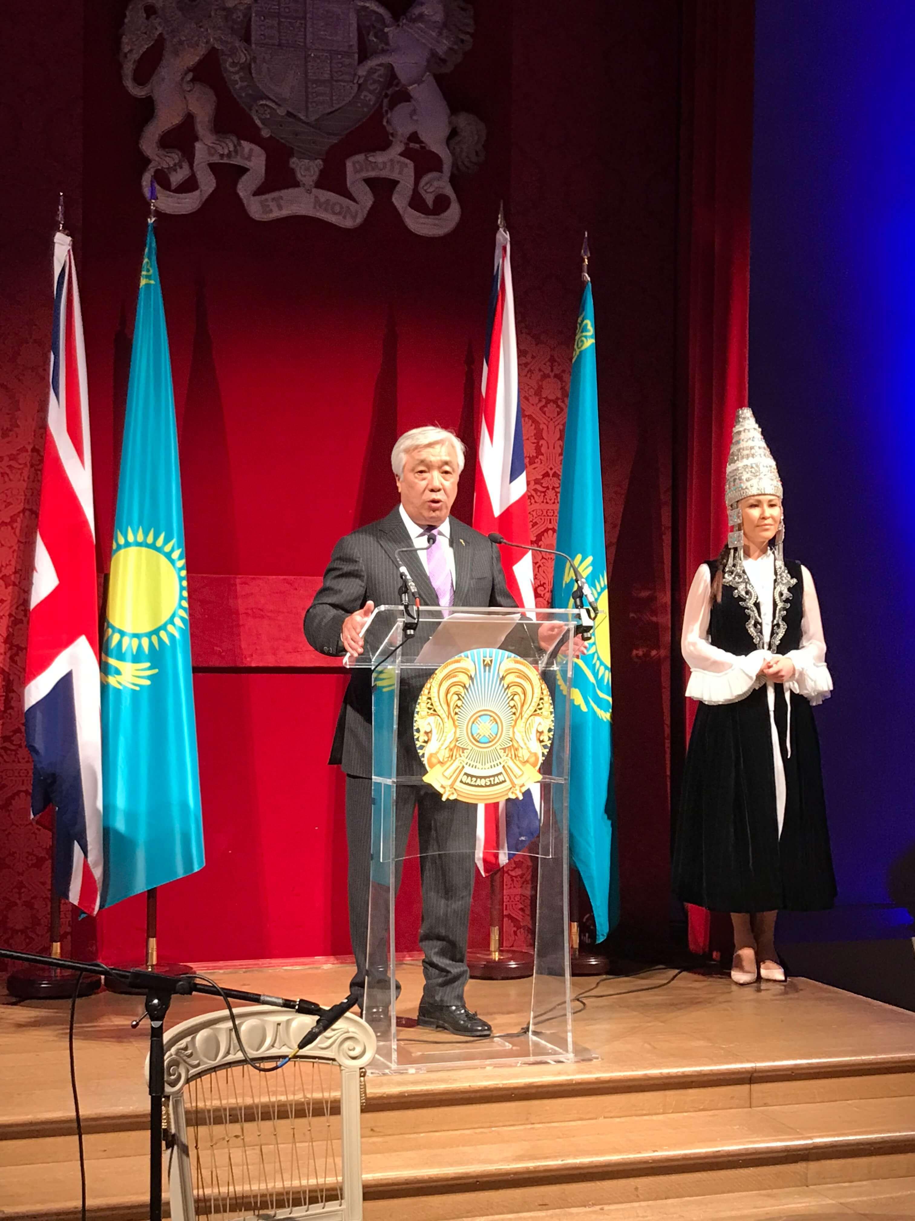 Kazakh Embassy reception 2