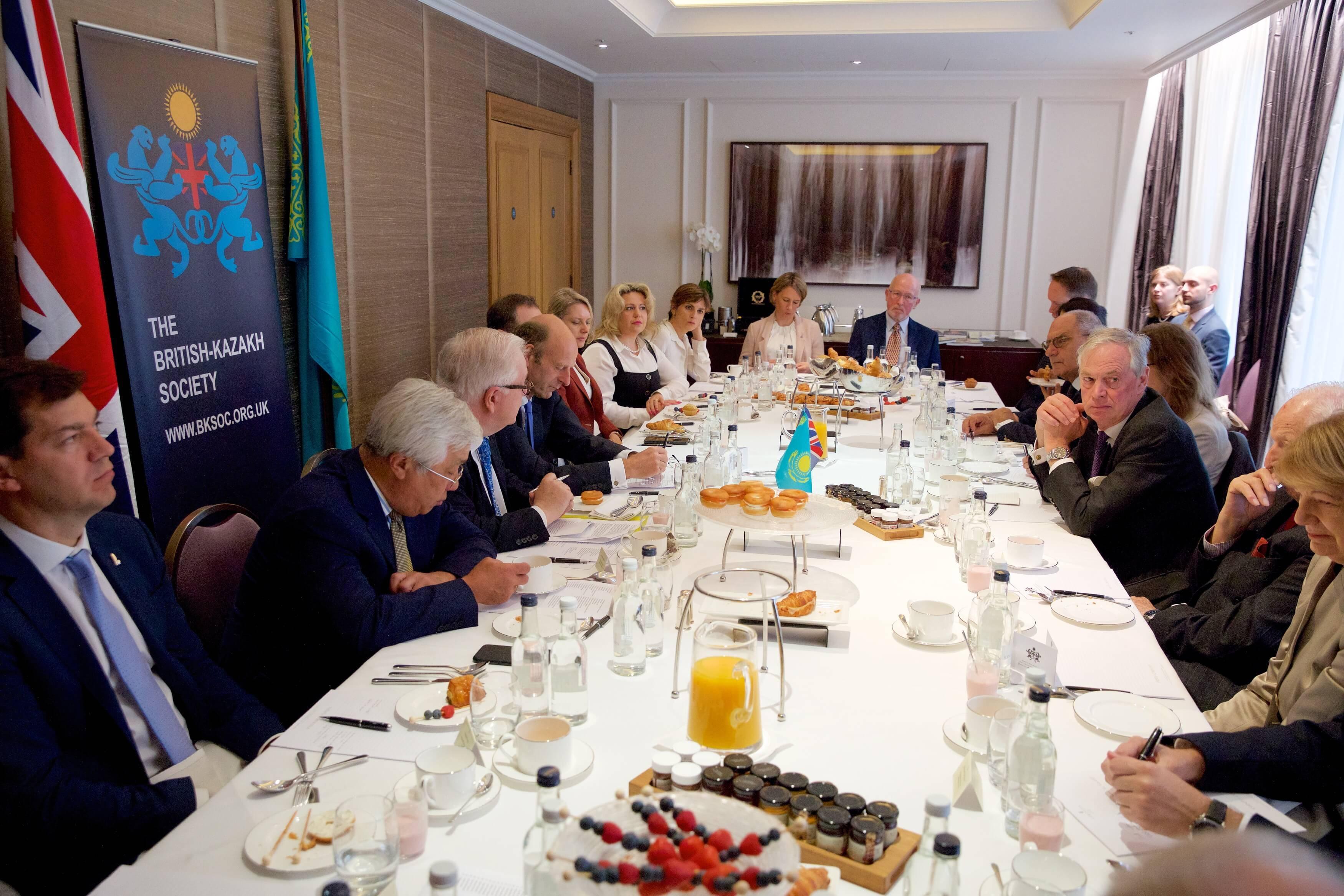 Oksana Breakfast Meeting