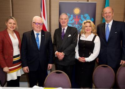 Oksana Howard attends Business Breakfast in honour of the UK Ambassador to the Republic of Kazakhstan