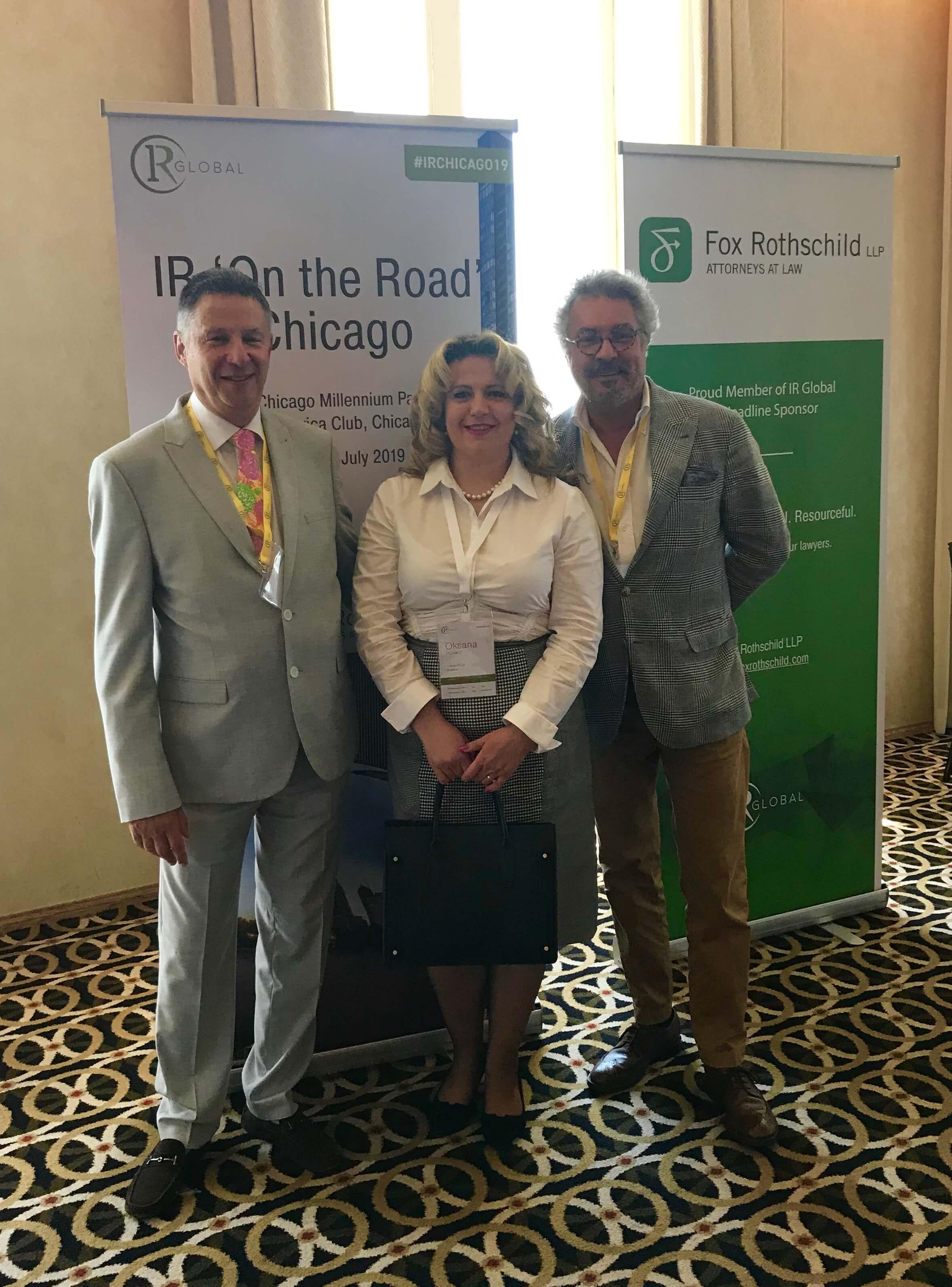 Oksana Howard IR Global Chicago1