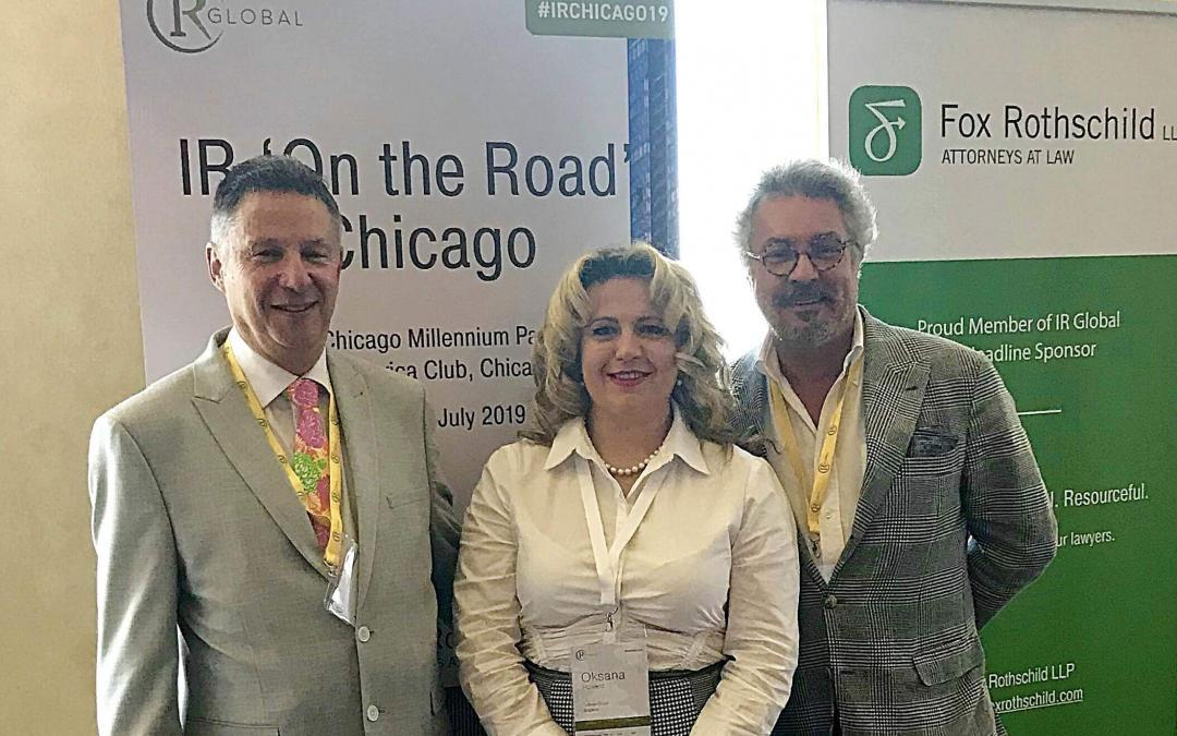 IR Global Conference in Chicago