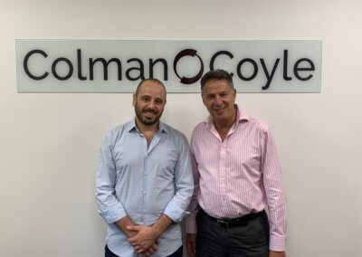 Wissam Abousleiman from Lebanon visits our London office