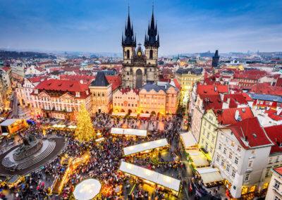 Oksana Howard attends IR Global Eastern European Meeting in Prague