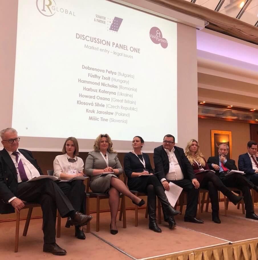 Oksana Howard meeting in Prague