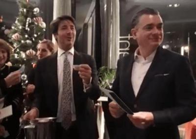 Christmas raffle raises over £1000 for Centro Social de Mayores