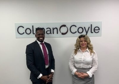 IR Global Member Roland Jones from Barbados visits Colman Coyle