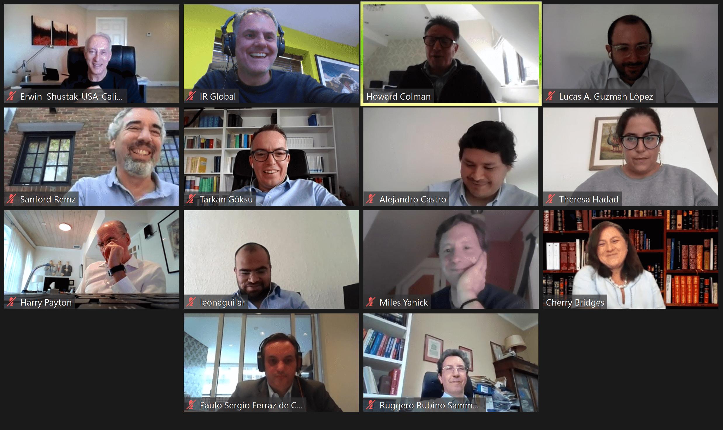 Howard Colman IR Global virtual meeting