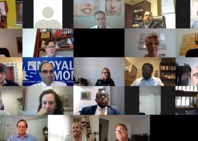 Oksana Howard Co-hosted Commercial Working Group Virtual EMEA Meeting