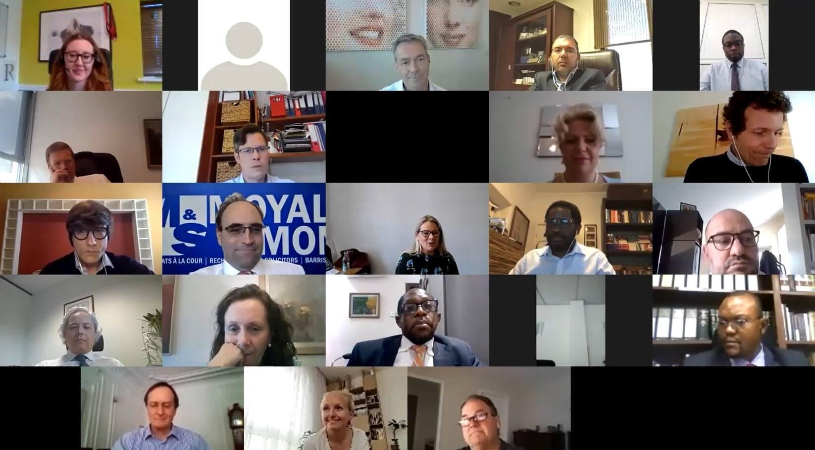 IR Global Commercial Working Group Virtual Meeting