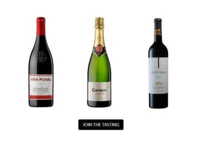 Virtual Wine Tasting Event with Spanish Dinner Club