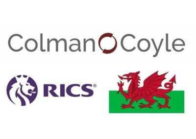Colman Coyle welcomed to Wales for RICS 2020 Virtual Conference