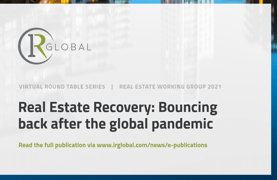 Philip Otvos participates in IR Global Real Estate Virtual Series: Bouncing back after the global pandemic