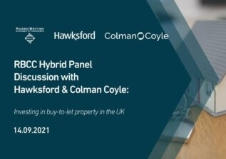 Colman Coyle, Hawksford and Russo-British Chamber of Commerce to host a hybrid event on investing in buy-to-let property in the UK
